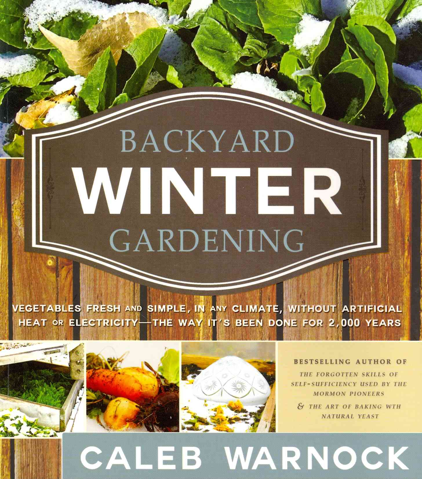 Backyard Winter Gardening By Warnock, Caleb