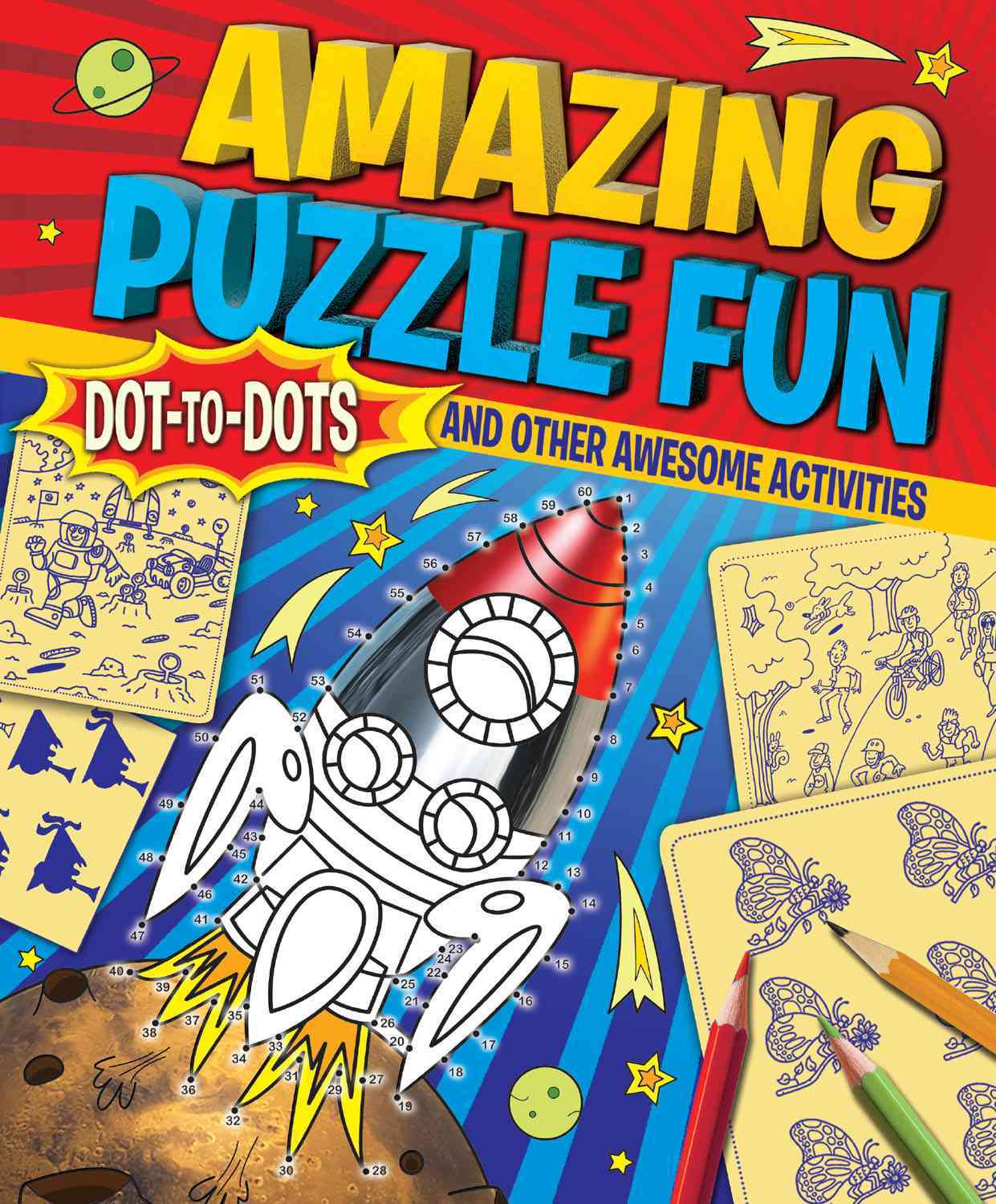 Amazing Puzzle Fun By Arcturus Publishing (COR)